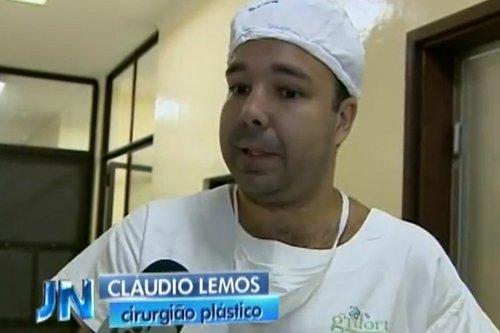 Dr.Cláudio Lemos - Jornal Nacional