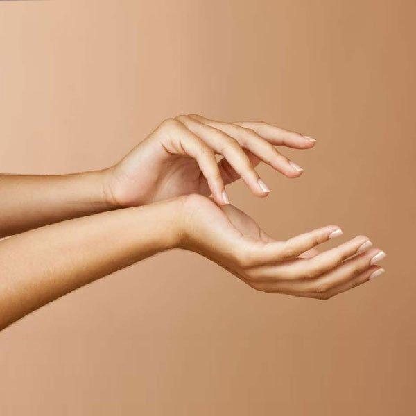 Rejuvenescimento nas Mãos